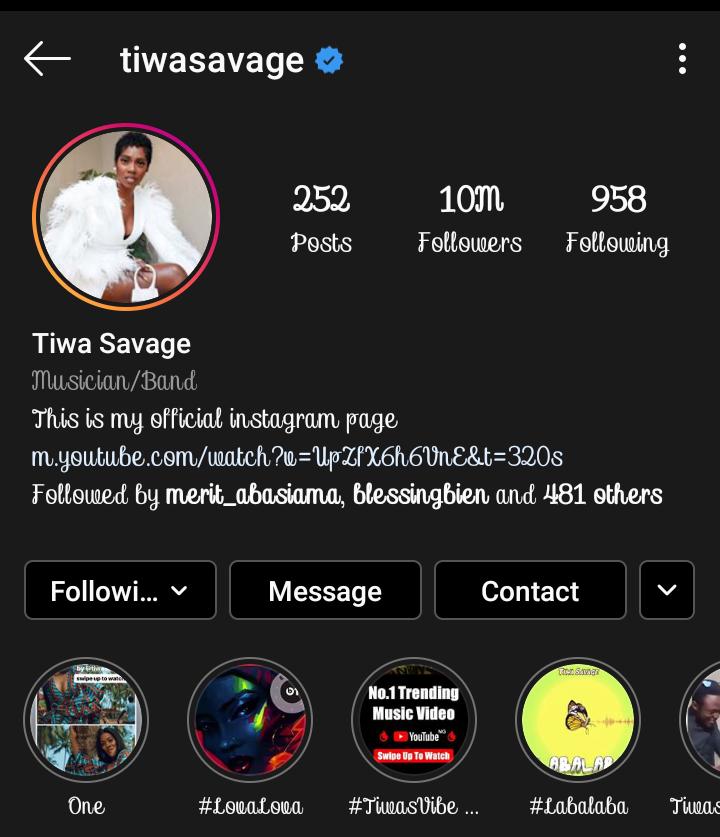 Happy 40th Birthday Tiwa Savage!!.
