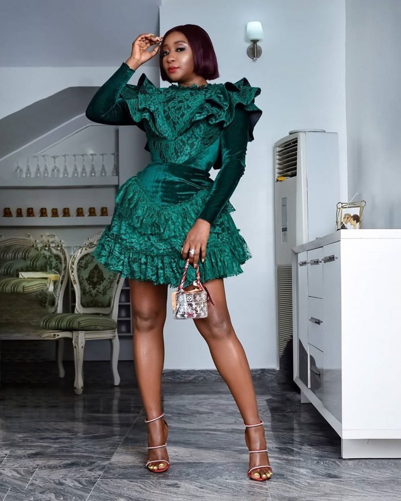 Ini Edo Or Tacha: Who Rocked This Green Dress Better?
