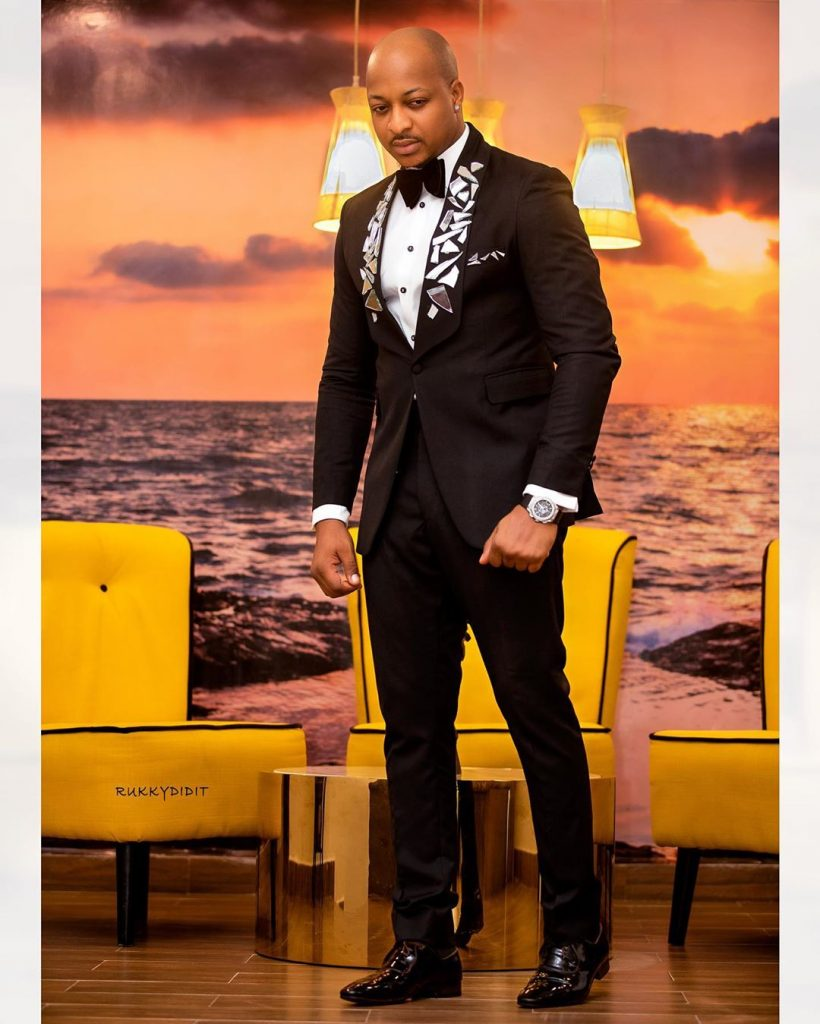Check Out IK Ogbonna's Stunning Outfit - #AMVCA2020