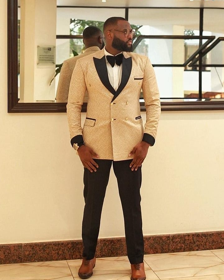 Nelson Allison's Outfit for #AMVCA2020