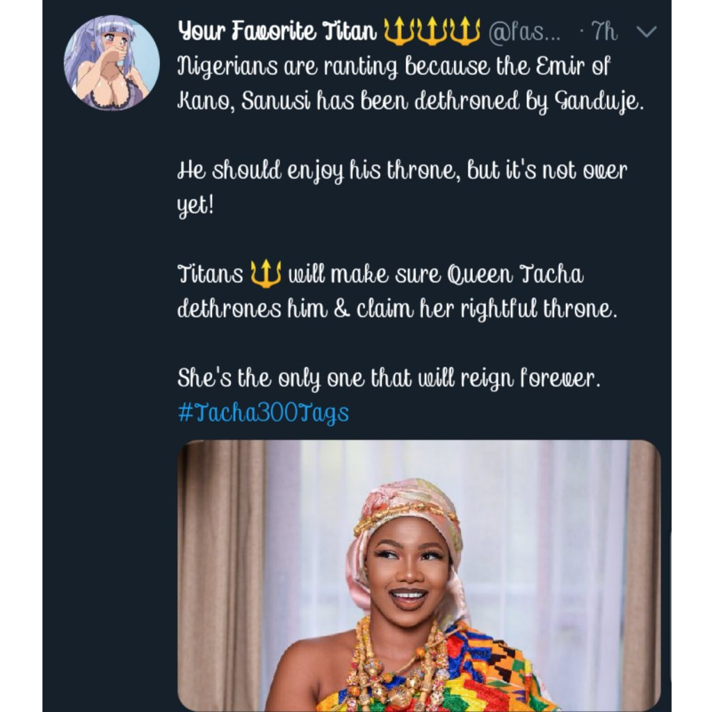 TITANS Declare TACHA As The New Emir Of Kano!!