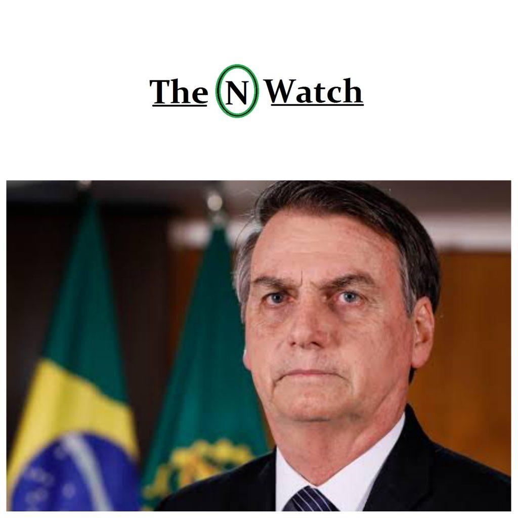 Coronavirus: Brazil President, Jair Bolsonaro Test Positive!!