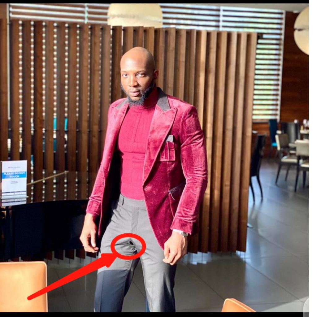 A Torn Trouser?? BBNaija's Tuoyo Suffers Wardrobe Malfunction At #AMVCA2020